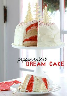 Going to a holiday party next week? Try this recipe for Peppermint Dream Cake!