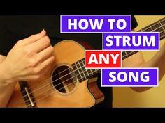 Strumming Patterns Ukulele, Ukulele Chords Easy, Easy Ukelele Songs, Ukulele Songs Beginner, Guitar Chords And Lyrics, Cool Ukulele, Uke Songs, Musical, Piano Music