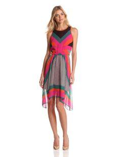Fashion Nine West Dresses Women's Sleeveless Asymmetrical Hem Dress - http://clothing.wadulifashions.com/fashion-nine-west-dresses-womens-sleeveless-asymmetrical-hem-dress/