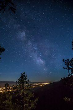 Bitterroot Valley Milky Way Stevensville, Montana © Mark Mesenko-SR