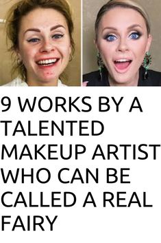 9 Works by a Talented Makeup Artist Who Can Be Called a Real Fairy Real Fairies, Older Women Fashion, Weird World, Yoga Poses, Funny Jokes, It Works, Fairy, Canning, Humor
