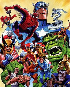 Marvel by Bruce Timm