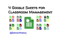 It's important to make technology decisions work for you. That's why I'm not quick to throw away older methods to accept a shiny new tool. This post shares some ideas about how to use Google Sheets in four different ways to support classroom management needs. Classroom Behavior Management, Instructional Strategies, Work On Yourself, Technology, Education, Learning, Google, Ideas, Blog
