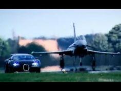 Bugatti Veyron Vs. Euro Fighter Jet Plane: Who Wins?