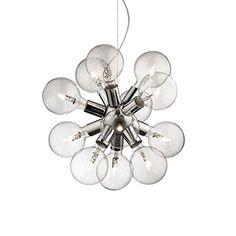 VAL040 074771- DEA SP12/84 - Illuminazione interno Lampada a sospensione - Metallo cromato. Garantito da Valastrolighting VALASTRO LIGHTING http://www.amazon.it/dp/B00K9PQX8E/ref=cm_sw_r_pi_dp_9jjXwb0A52E8R
