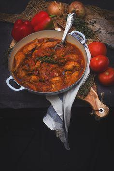 POLLO AL CHILINDRON | Yerbabuena en la cocina