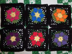 Ravelry: ruthl's Flowers Abound CAL 2015