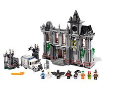 The villains have broken out of Arkham Asylum and must be stopped!