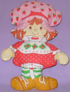 Loved my Strawberry Shortcake pillow doll!