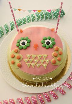 Owl cake for Alva 4 years!  Pic Elin Andersson/elinochalva