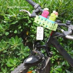 """Handmade planter for bike! """"summer gift party"""" by CraftPatisserie"""