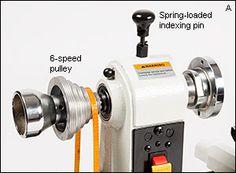 Rikon® Midi Lathes - Lee Valley Tools