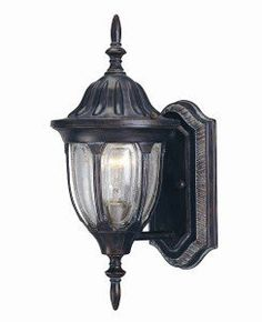 Savoy House Lighting 5-1503-52 Tudor 1 Light Outdoor Wall Lights in Bark And Gold by Savoy House Lighting. $74.00. Traditional Exterior, Versatile in Bark & Gold Finish with Clear Seeded Glass.