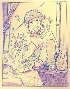 Osomatsu-san- Ichimatsu #Anime「♡」 埋め込み画像
