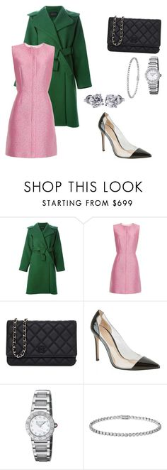 """""""Good Morning!💕"""" by gege18 ❤ liked on Polyvore featuring Cédric Charlier, Balenciaga, Chanel, Gianvito Rossi, Bulgari, Cartier and Tiffany & Co."""