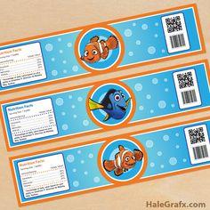 Little Wish Parties | FREE Finding Nemo Party Printables | https://littlewishparties.com