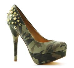 Blink 701283 groene hoge hakken pumps.  My husband would love to see me in these