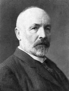 Georg Cantor, mathematician who discovered transfinite infinite sets and developed a  mathenmatics of infinite sets, proving that the universe, life and human mind are infinte with no limits