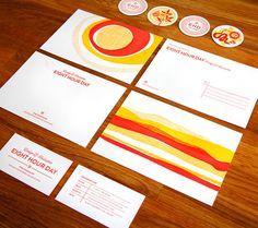 8hrday_newbrand_05 | #stationary #corporate #design #corporatedesign #logo #identity #branding #marketing <<< repinned by an #advertising agency from #Hamburg / #Germany - www.BlickeDeeler.de | Follow us on www.facebook.com/BlickeDeeler