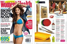 Women's Health Magazine -   Up in Your Grill, July 2010