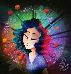 Artwork by Vivziepop