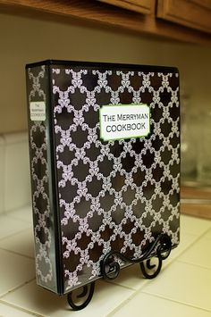 I want to make my own recipe book.