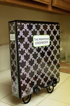 DIY cookbook idea