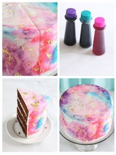 Selecting The Suitable Cheeses To Go Together With Your Oregon Wine Watercolor Graffiti Chocolate Cake Sprinkle Bakes Cake Decorating Tips, Cookie Decorating, Diy Dessert, Dessert Decoration, Decoration Patisserie, Fancy Cakes, Pink Cakes, Love Cake, Pretty Cakes