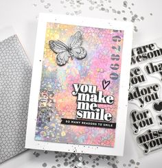 Simon Says Stamp You Make Me smile – REDSAS