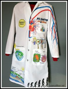 33 best Lab Coats Customized for Science images on ...