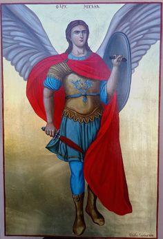 Chi Rho, Angel Warrior, Byzantine Icons, Spiritual Path, St Michael, Holy Spirit, Disney Characters, Fictional Characters, Saints