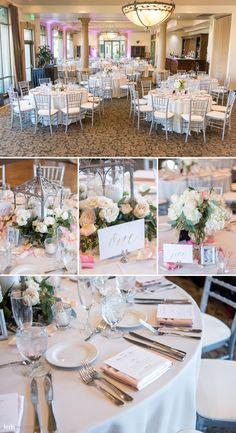 Blush & Cream Wedding Reception Inspiration | Siena Golf Club Wedding | KMH Photography | Las Vegas Wedding Photographer