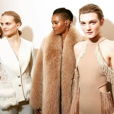Backstage with JONATHAN SIMKHAI FW16 - now available for pre-order on ModaOperandi.com