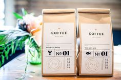 coffee branded favors