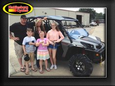 Thank you Toady, Colt, Melissa, Shyann and Kayla Hensley from Butler AL for getting a 2017 Can-Am Commander XT 1000 Max #canam