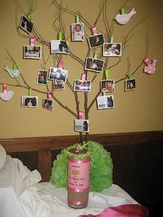 What a cute idea for a baby shower!