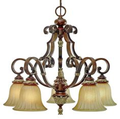 Golden Lighting - Bristol Place 5-Light Nook Chandelier  WHAT ABOUT THIS ONE!!!
