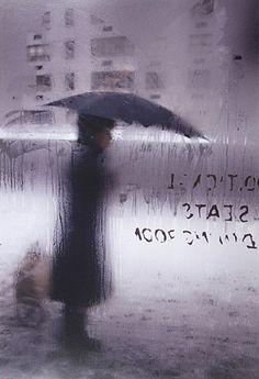 Saul Leiter: Snow (variant), 1960