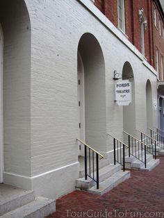 Ford's Theatre in Washington D.C. - www.TourGuideToFun.com  #fordstheatre #lincoln #lincolnassassination #washingtondc