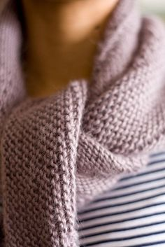 Gorgeous! Pattern is Textured shawl recipe by Orlane