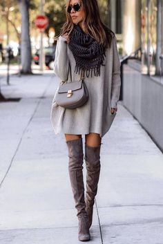 18 Sassy Date Night Outfits that Turn Up the Heat ★ Comfy and Warm Outfit Ideas picture 2 ★ See more: http://glaminati.com/date-night-outfits/#outfitideas#dateoutfit