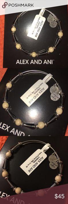 RARE Alex and Ani RARE Alex & Ani. Brand new with tags perfect condition. SILVER. Alex & Ani Jewelry Bracelets