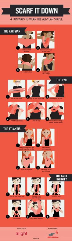 Scarf it down! 4 Fun Ways to Wear Scarves as an All-Year Staple | The Jenny Evolution