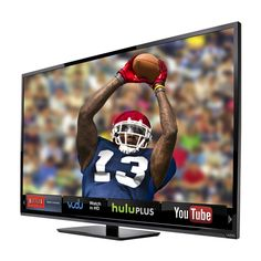 """Catch all the best shows and games with the 70"""" LED Smart TV by Vizio"""
