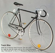 Fixed Gear Blog  A Very Old Panasonic Track Bike fdbb979b9