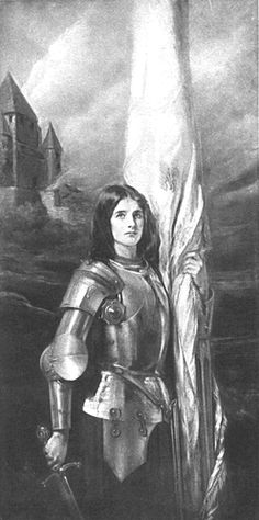 Portrait of Joan of Arc  c1912