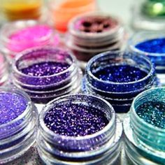 I need some random things of colorful glitter..