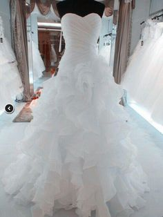 Classy 2015 Sexy New Custom Plus Size Backless Wedding Gowns Sexy Sweetheart Strapless Beautifully Organza Mermaid Wedding Dress Bridal Gown Mermaid Wedding Dresses Cheap Mermaid Wedding Dresses Lace From Blissangel, $167.54| Dhgate.Com