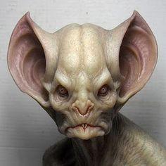 Aris Kolokontes bat creature close up
