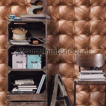 Leather wall behang 959991 Interieurvoorbeelden behang AS Creation